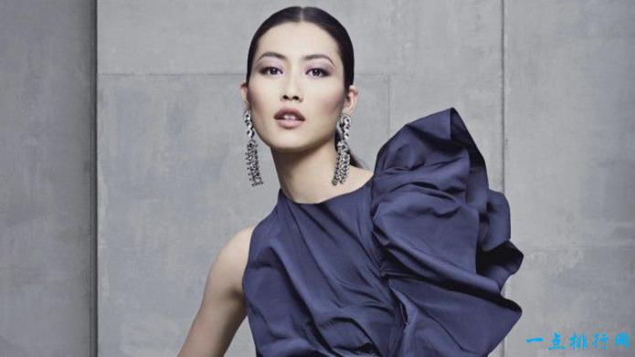 世界十大最美丽性感的模特:刘雯