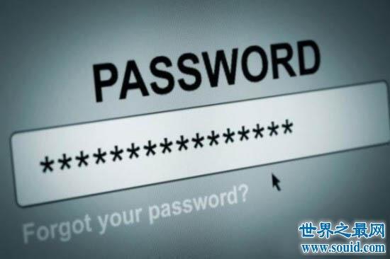【图】世界最常用密码榜单,第一果然是123456