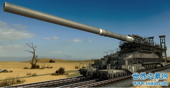 【图】二战最恐怖的火炮古斯塔夫列车炮,一炮轰掉了前苏联