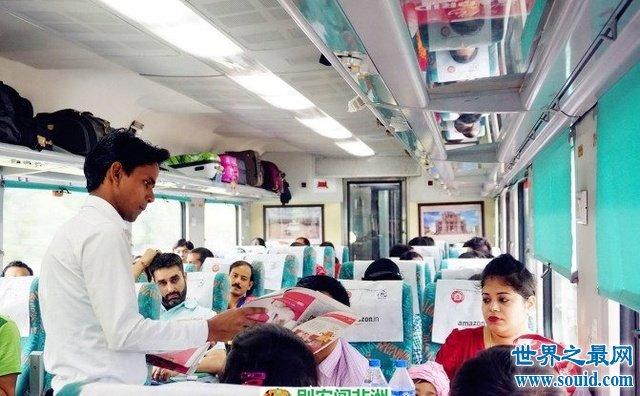 【图】超豪华印度火车上线,颠覆你的世界观(有WiFi和电视)