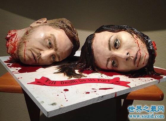 【图】世界最恐怖的食物恐怖蛋糕,看了吓死人还怎么吃