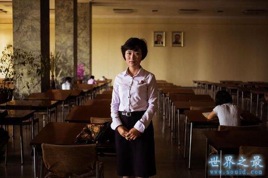 朝鲜最美的美女,穿制服的清纯学生妹最好看